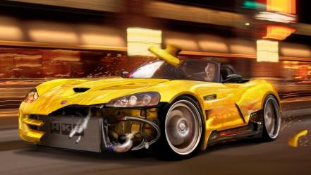 Cars viper dodge races srt wallpaper