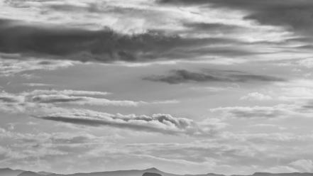 Mountains landscapes nature trees argentina national geographic grayscale wallpaper