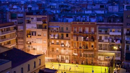 Night soccer barcelona national geographic apartments cities wallpaper