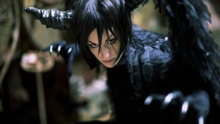 Cosplay kuroshitsuji sebastian michaelis claws demon black hair wallpaper