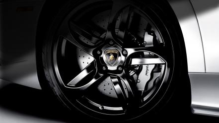 Lamborghini wheels brakes rims Wallpaper
