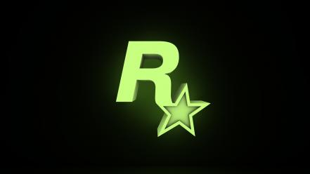 Rockstar games glow logos new england Wallpaper