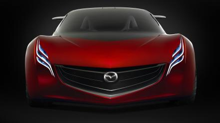 Cars mazda concept art red ryuga wallpaper