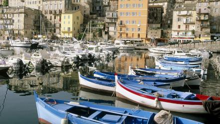 France buildings corsica cities wallpaper