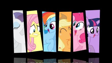 Little pony: friendship is magic mane 6 wallpaper