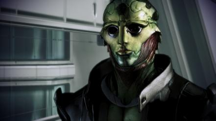 Video games mass effect thane 3 krios drell wallpaper