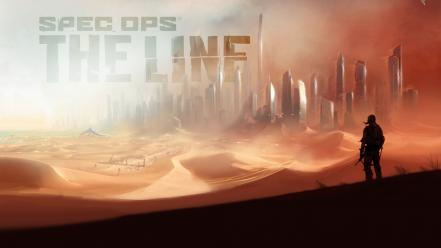 Video games spec ops: the line wallpaper