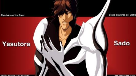 Bleach yasutora sado bionic hand wallpaper