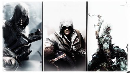 Connor kenway creed ezio auditore da firenze wallpaper