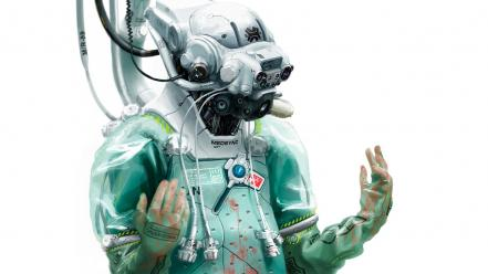 Cyborgs doctors artwork wallpaper