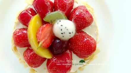 Fruits desserts kiwi Wallpaper