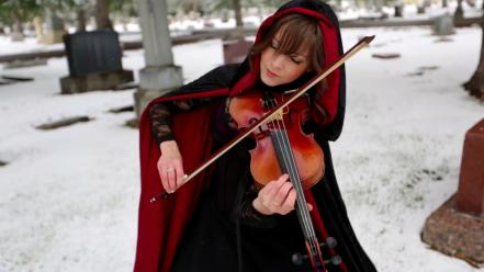 Lindsey stirling violinist lindseystomp wallpaper