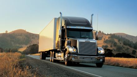 Trucks widescreen wallpaper