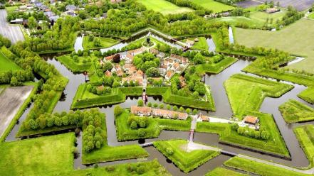 Landscapes trees garden europe nederland Wallpaper