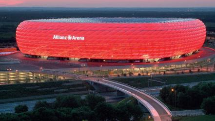 Munich stadium allianz arena wallpaper