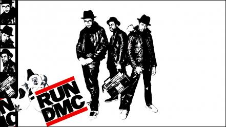 Music hip hop rap run dmc wallpaper