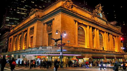 New york city manhattan grand central terminal wallpaper for Grand tableau new york