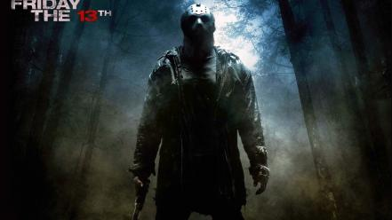 Scary jason friday the 13th masks thriller Wallpaper