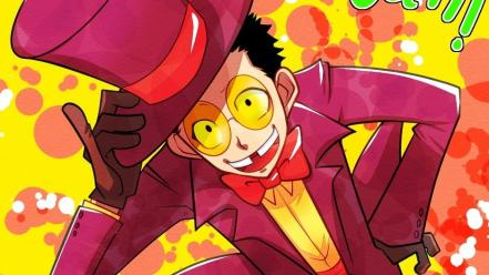 Suit glasses superjail hats the warden wallpaper