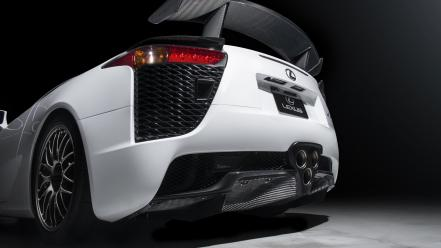 White lexus lfa 2013 wallpaper
