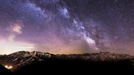 Germany bavaria milky way hdr photography skies wallpaper
