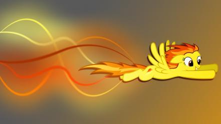 Little pony: friendship is magic wonderbolts spitfire wallpaper