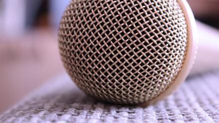 Macro objects microphones wallpaper