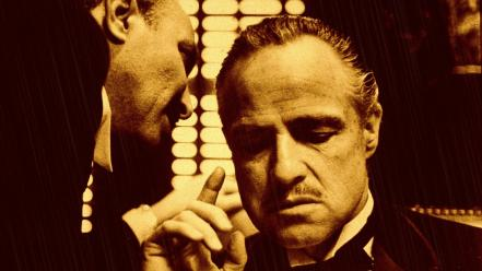Movies the godfather marlon brando wallpaper
