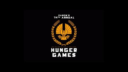 The hunger games black background wallpaper