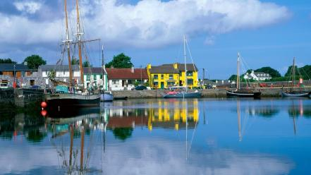 Ireland bay galway kinvara Wallpaper