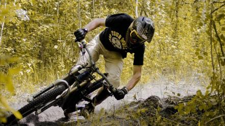 Sports mountain bikes wallpaper