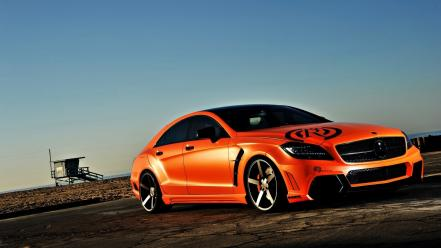 Tuning mercedes-benz mercedes benz cls 63 amg wallpaper