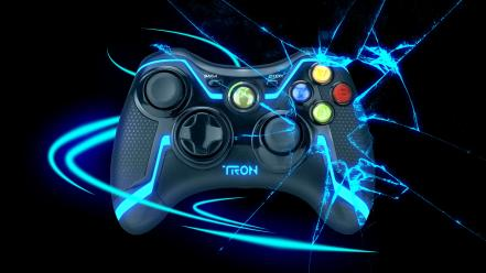 Video games controllers xbox 360 wallpaper