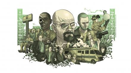 Breaking bad walter white jesse pinkman wallpaper