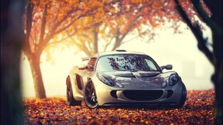 Cars lotus elise 111s autumn wallpaper