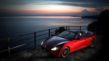 Cars maserati grancabrio wallpaper