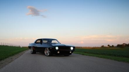 Cars muscle chevrolet camaro ss classic wallpaper