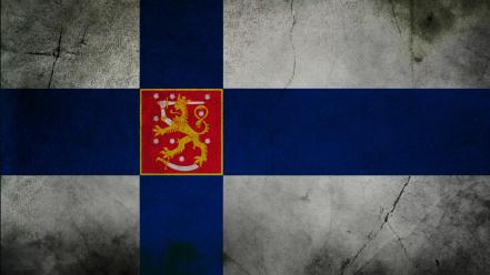 Flags finland Wallpaper