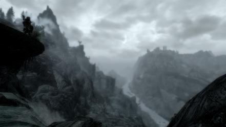 The elder scrolls v: skyrim wallpaper