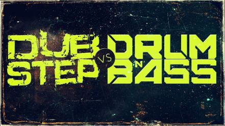 Typography dnb dubstep drum and bass dub step wallpaper