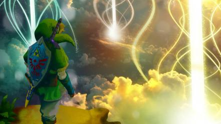 Zelda video skyward sword game wallpaper