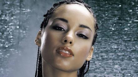 Alicia Keys Face wallpaper