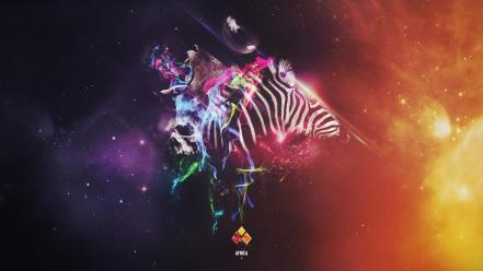 Animals digital art artwork africa posters photomanipulation wallpaper