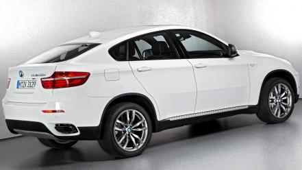 Bmw back x6 wallpaper