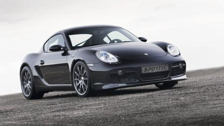 Cayman Sportec Front Angle wallpaper