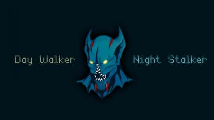 Dota 2 final day walker night stalker balanar wallpaper
