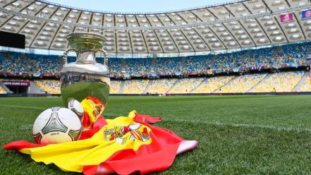 Flags spain euro 2012 wallpaper