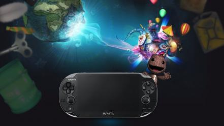 Video games little big planet playstation vita wallpaper