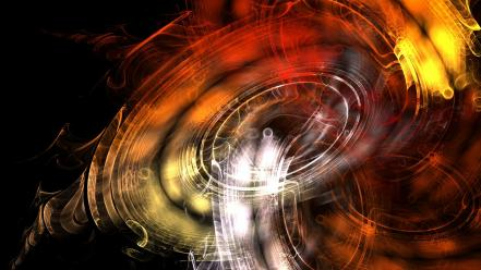 Abstract flames fractals cgi apophysis Wallpaper