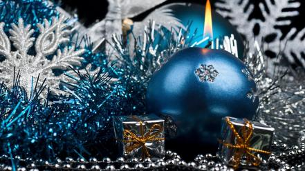 Blue christmas Wallpaper